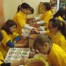 Ateliere de pictura - Voluntari - Casa de Cultura