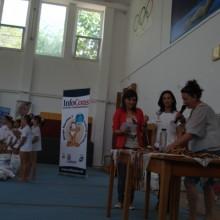 A.N.P.C.P.P.S.Romania a premiat gimnastele participante in cadrul competitiei Cupa Andreea Raducan
