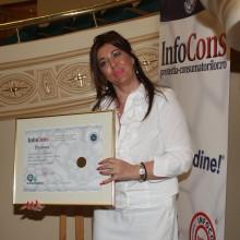 Doamna Corina Martin - Presedinte Asociatia pentru Promovarea si Dezvoltarea Turismului Litoral - Delta Dunarii - Ambasador al Miscarii de Protectia Consumatorilor