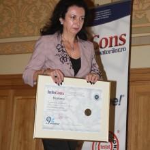 Doamna Daniela Calugaru - Inspector General in cadrul Ministerului Educatiei Nationale - Ambasador al Miscarii de Protectia Consumatorilor