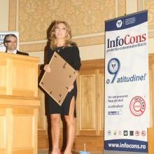 Doamna Florentina Opris - Realizator TV emisiune de educare si informare in domeniul sanatatii - Ambasador al Miscarii de Protectia Consumatorilor