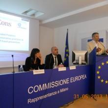 Domnul Sorin Mierlea Presedinte A.N.P.C.P.P.S. Romania - InfoCons - Conferinta - Milano - O.L.A.F.