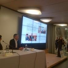 Domnul Sorin Mierlea – Presedinte al A.N.P.C.P.P.S.Romania – Conferinta Nationala Risipa de alimente Roma, Italia