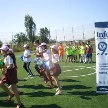 Competitie sportiva in cadrul proiectului