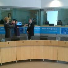 """Prezentarea rezultatelor Proiectului European """"Me is Mine"""" – Bruxelles"""