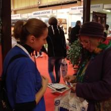 Reprezentantii A.N.P.C.P.P.S. Romania au participat si au impartit materiale informative la Targul de Turism al Romaniei