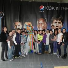 Reprezentantii A.N.P.C.P.P.S.Romania – InfoCons impreuna cu elevii clasei a-V-a de la Scoala nr. 1 Pantelimon, in vizita la Fabrica PepsiCo