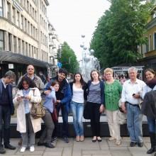 """Reprezentantii A.N.P.C.P.P.S.Romania – InfoCons, reprezentantii ADICONSUM (Italia), impreuna cu domnul Gheorghe Chioaru – Presedintele Federatiei """"Omenia"""" a CARP-urilor din Romania – au participat la a-IV-a - , ultima intalnire din cadrul cadrul """"IN4ALL"""" Project – Grundtving Partnership – Lifelong Learning Program – Directorate Generale Education and Culture, proiect de educare privind incluziunea persoanelor cu dizabilitati, la Kaunas, Lituania"""