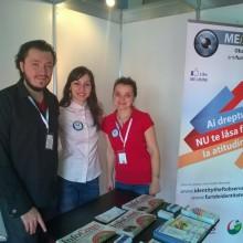 Reprezentantii A.N.P.C.P.P.S. Romania – InfoCons prezenti la ROMMEDICA - Targ International de Medicina si Farmacie