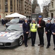 Reprezentantii A.N.P.C.P.P.S. Romania – InfoCons au diseminat materiale informativ-educative de Ziua Politiei Romane