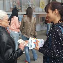 Reprezentantii ANPCPPS Romania - InfoCons au diseminat materiale educativ-informative la Festivalul Muzicilor de Fanfara cu ocazia Zilei Europei - Protectia Consumatorilor