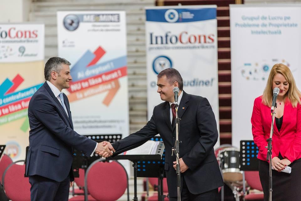 Ziua Mondiala a Proprietatii Intelectuale - Domnul Vitalie Panis - presedintele Centrului National de Prelucrare a Datelor cu Caracter Personal din Republica Moldova