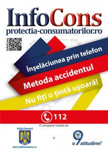 Afis Inselaciunea prin telefon! Metoda accidentul! - InfoCons - Protectia Consumatorilor
