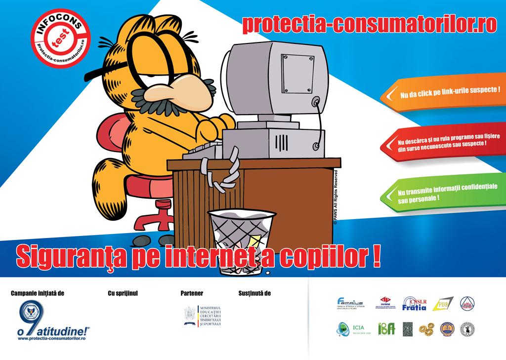 Afis Siguranta pe internet a copiilor! - InfoCons - Protectia Consumatorilor