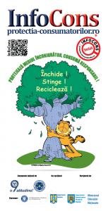 Flyer Protejeaza mediul inconjurator, consuma responsabil! - InfoCons - Protectia Consumatorilor