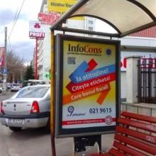 Campanie InfoCons Citeste Eticheta - Cere Bonul Fiscal - POD TIMPURI NOI - CAL.VACARESTI - SPRE MIHAI BRAVU Sector 4