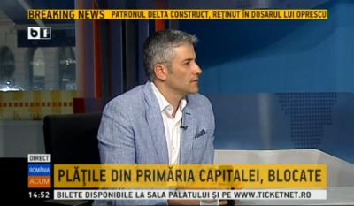 Domnul Sorin Mierlea in direct la postul de televiziune B1TV