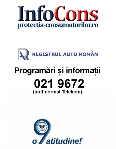 Registrul Auto Roman - 021 9672