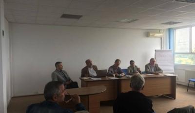"""Domnul Sorin Mierlea participă la Dezbaterea cu tema """"Disciplina în construcții - Obligații legate de utilizarea clădirilor în siguranță!"""""""