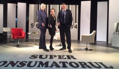 """Primul episod din seria de emisiuni """"SuperConsumatorul"""" a fost difuzat în data de 14 Octombrie"""
