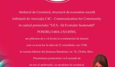 Invitație la Atelierul de Ceramică