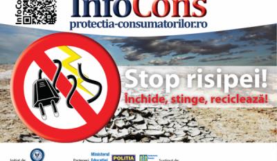 """Reprezentanții InfoCons participă la lansarea Lucrării """"Eficiența energetică – prioritate națională pentru reducerea săraciei energetice, creșterea calității vieții și siguranța consumatorilor de energie"""""""
