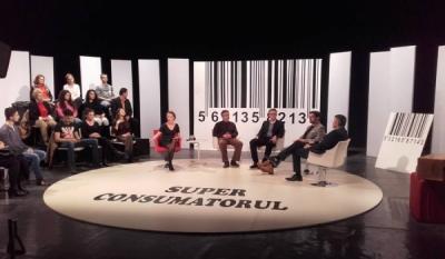 În câteva momente începe emisiunea SuperConsumatorul pe TVR1
