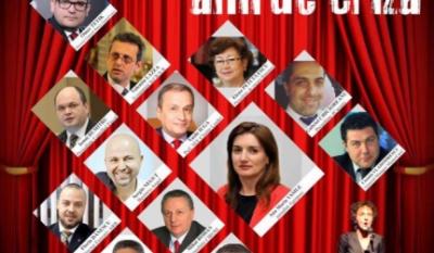 """Domnul Sorin Mierlea participă la conferința """"Lecții învățate în anii de criză""""."""