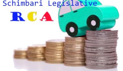 Schimbari legislative privind asigurarea obligatorire RCA