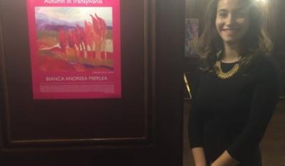 """Expoziția de pictură """"Toamnă în Transilvania"""""""