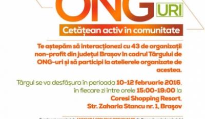 Participare Târg de ONG-uri - Cetățean activ în comunitate