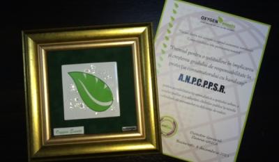Premiul pentru implicarea și creșterea gradului de responsabilitate în protecția consumatorului cu handicap