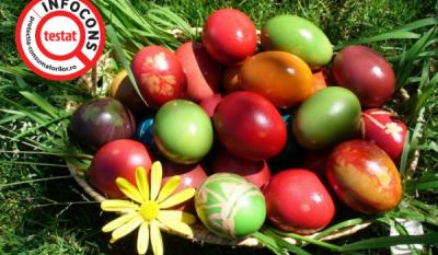 Vopsea pentru ouă - știi ce conține?