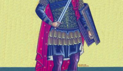 La mulți ani cu ocazia Sfântului Mare Mucenic Gheorghe