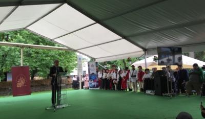 Reprezentanții InfoCons participă la evenimentul de aniversare a 80 de ani de activitate a Muzeului Satului