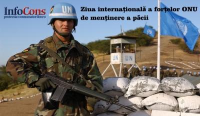 Ziua internațională a forțelor ONU de menținere a păcii