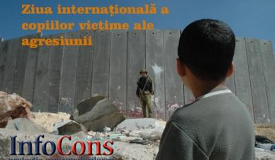 Ziua internațională a copiilor victime ale agresiunii