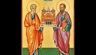 La mulți ani cu ocazia Sfinților Petru si Pavel