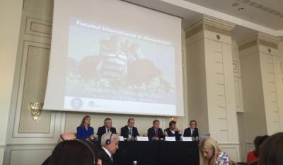 """Reprezentanții InfoCons participă la Forumul Global al Alimentației cu tema """"Investiții în viitorul sectorului agricol"""""""
