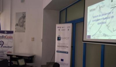Seminarul SYPCIT - Sistem de Prevenire si Combatere a furtului de identitate