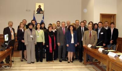 Eveniment in cadrul proiectului finantat din fonduri UE desfasurat in Grecia prin participarea reprezentantilor InfoCons