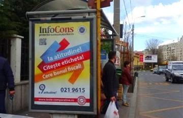 Campanie InfoCons Citeste Eticheta – Cere Bonul Fiscal – POD TIMPURI NOI – CAL.VACARESTI – SPRE MIHAI BRAVU Sector 4