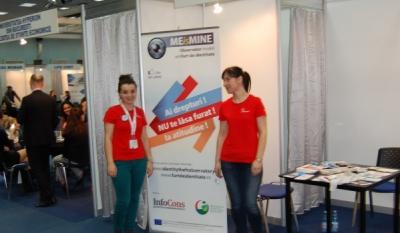 Reprezentantii InfoCons prezenti la IMM Forum ce se desfasoara la ROMEXPO