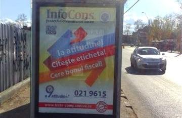 Campanie InfoCons Citeste Eticheta – Cere Bonul Fiscal – SPITALUL UNIVERSITAR – EROILOR – SPRE STIRBEI VODA Sector 5