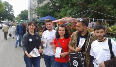 Reprezentantii Asociatiei Nationale pentru Protectia Consumatorilor si Promovarea Programelor si Strategiilor din Romania – InfoCons prezenti la Hortus Flower Show Romania 2014