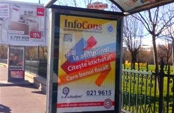 Campanie InfoCons Citeste Eticheta – Cere Bonul Fiscal – PALATUL PARLAMENTULUI – NATIUNILE UNITE – SPRE POSTA PUISOR Sector 5
