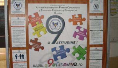 Materiale educativ-informative in punct de informare centru Info EU-RO – CARP Omenia
