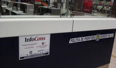 Diseminare materiale Aeroport – InfoCons – Protectia Consumatorilor