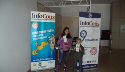 InfoCons Filiala Euroregiunea Centru a desfasurat diferite actiuni dedicate copiilor de 1 Iunie