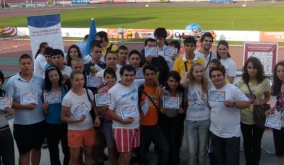 InfoCons, asociatie de consumatori, partener alaturi de Federatia Romana de Atletism a organizat acest eveniment in cadrul proiectelor europene Agenda Europa si DOLCETA